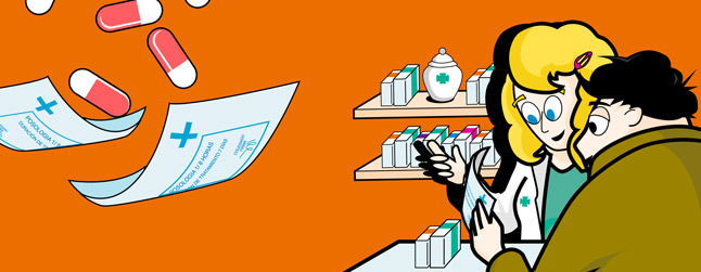 Los antibióticos siempre con receta en la farmacia
