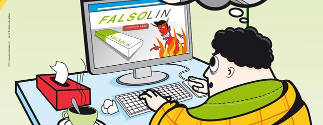 Medicamentos en Internet: Riesgo de Falsificaciones. Por tu seguridad, los medicamentos en la farmacia